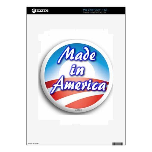Hecho en América Skins Para iPad 2