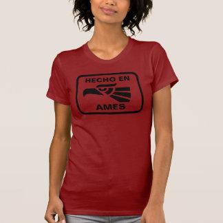 Hecho en Ames personalizado custom personalized T-Shirt