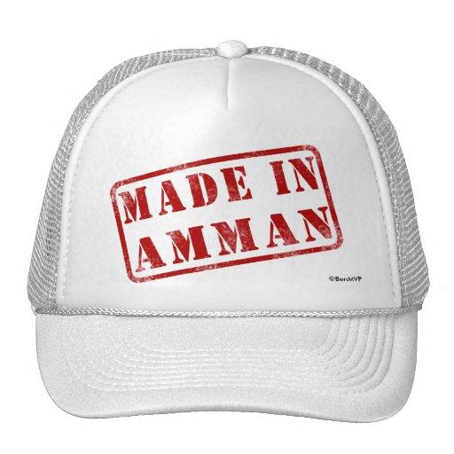 Hecho en Amman Gorro