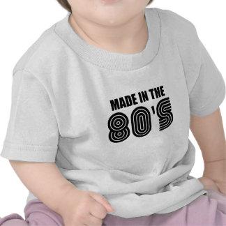 hecho en años 80 camiseta