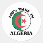 Hecho en Argelia Etiqueta
