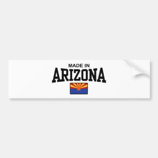 Hecho en Arizona Pegatina Para Auto