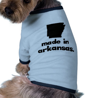 Hecho en Arkansas Camisas De Mascota