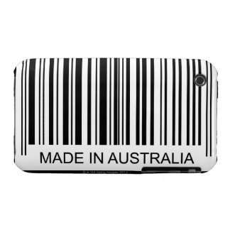 Hecho en Australia iPhone 3 Case-Mate Carcasas