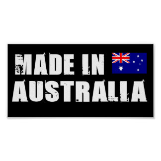 Hecho en Australia Impresiones
