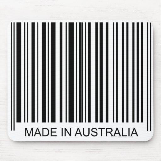 Hecho en Australia Tapete De Raton