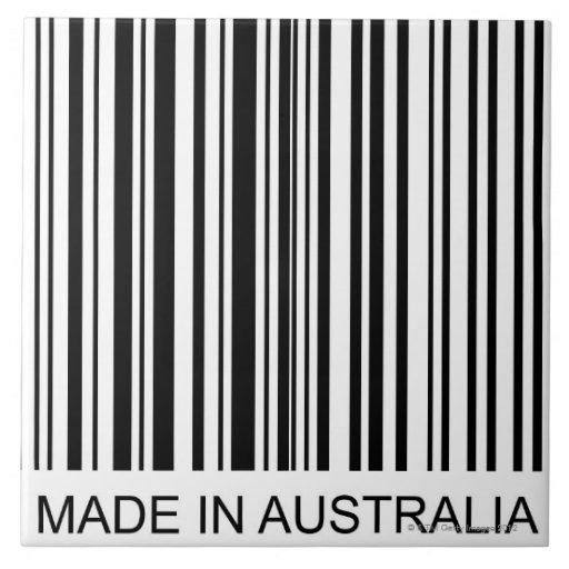Hecho en Australia Teja