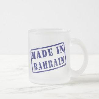 Hecho en Bahrein Taza De Cristal