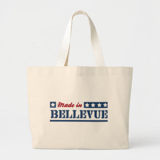 Hecho en Bellevue Bolsas Lienzo