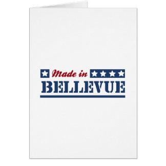 Hecho en Bellevue Tarjeton