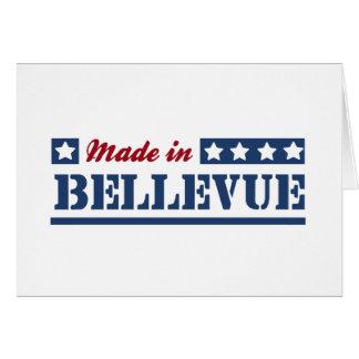 Hecho en Bellevue Felicitaciones