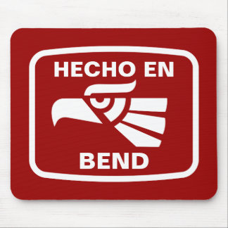 Hecho en Bend personalizado custom personalized Mouse Pad