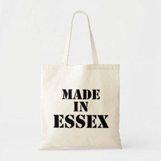 Hecho en bolso de la plantilla de Essex