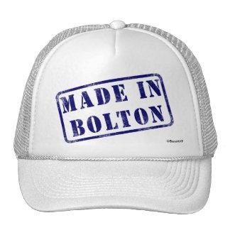 Hecho en Bolton Gorra