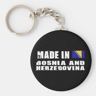 Hecho en Bosnia y Herzegovina Llavero Personalizado
