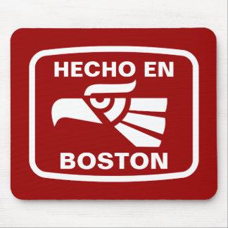 Hecho en Boston personalizado custom personalized Mouse Pad