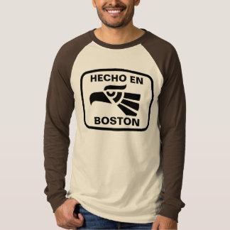 Hecho en Boston personalizado custom personalized T Shirt