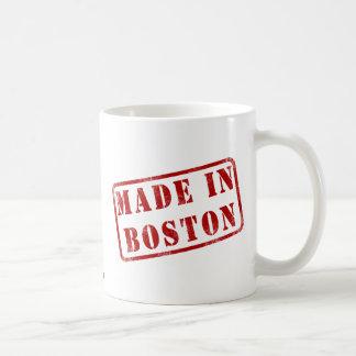 Hecho en Boston Taza