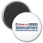 Hecho en Bridgeport Imán Para Frigorifico