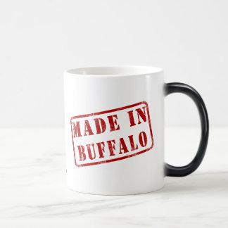 Hecho en búfalo taza de café