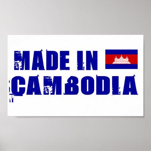 Hecho en Camboya Posters