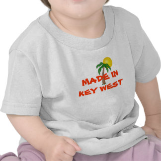"""""""Hecho en camisa del bebé de Key West"""""""