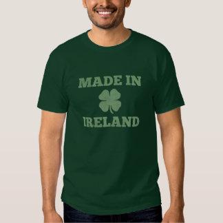 """""""Hecho en camiseta de Irlanda"""" Remeras"""