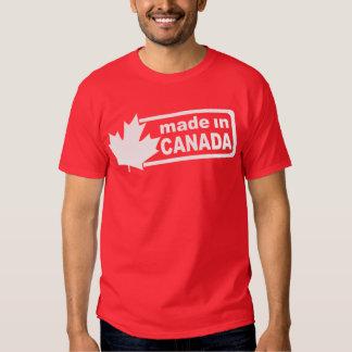 Hecho en Canadá - camisa para hombre roja