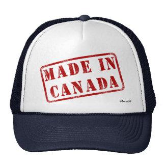 Hecho en Canadá Gorros Bordados