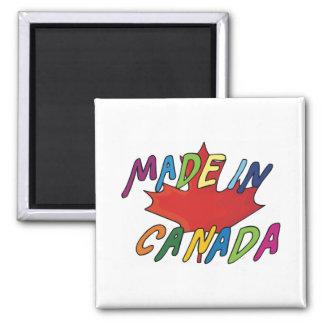 Hecho en Canadá Imán Para Frigorífico