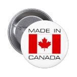 Hecho en Canadá Pins