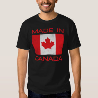 Hecho en Canadá Poleras