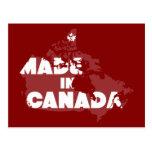 Hecho en Canadá Postales