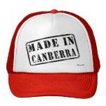 Hecho en Canberra Gorras