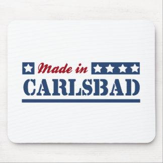Hecho en Carlsbad Tapete De Ratones