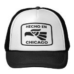 Hecho en Chicago personalizado custom personalized Trucker Hat