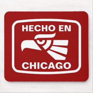 Hecho en Chicago personalizado custom personalized Mouse Mats