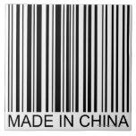 Hecho en China Azulejo Cuadrado Grande