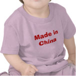 Hecho en China Camiseta