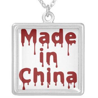 Hecho en China Colgante Cuadrado
