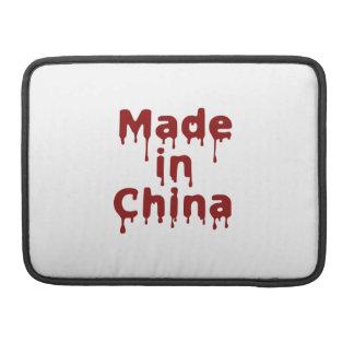 Hecho en China Fundas Macbook Pro