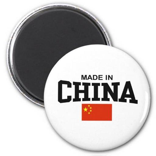 Hecho en China Iman De Frigorífico