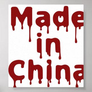 Hecho en China Impresiones