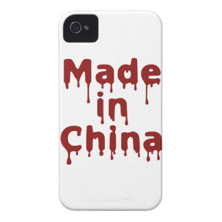 Hecho en China iPhone 4 Case-Mate Protectores