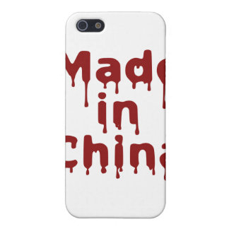 Hecho en China iPhone 5 Carcasa
