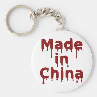 Hecho en China Llavero Redondo Tipo Pin