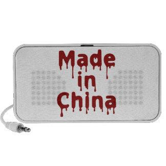 Hecho en China Notebook Altavoz