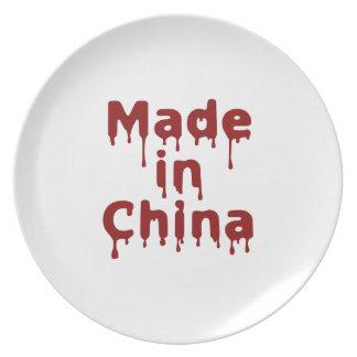 Hecho en China Plato De Cena
