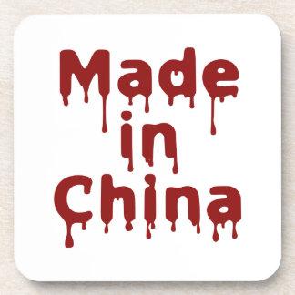 Hecho en China Posavasos De Bebidas