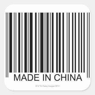 Hecho en China Calcomanías Cuadradases